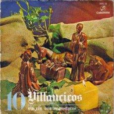 Discos de vinilo: VILLANCICOS Nº10,COLUMBIA 1970, RIN RIN,VAN LOS PASTORES,CORO Y RONDALLA ALEGRIA. Lote 46621551