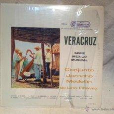 Discos de vinilo: VERACRUZ --SERIE MEXICO MUSICAL- CONJUNTO JAROCHO MEDELLIN DE LINO CHAVEZ-RCA CAMDEN-1961. Lote 46621563