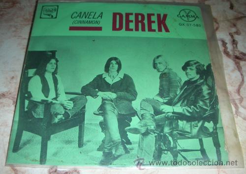 DEREK - CINNAMON + 3 - EP MEXICANO (Música - Discos de Vinilo - EPs - Pop - Rock Internacional de los 50 y 60)