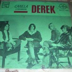 Discos de vinilo: DEREK - CINNAMON + 3 - EP MEXICANO. Lote 46622490