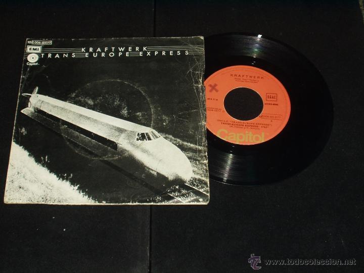 KRAFTWERK SINGLE TRANS EUROPE EXPRESS (Música - Discos - Singles Vinilo - Electrónica, Avantgarde y Experimental)