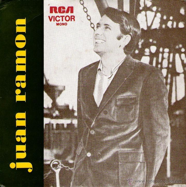 JUAN RAMÓN - EP VINILO 7'' - EDITADO EN PORTUGAL - LA JUNTA HARPER DEL MORAL + 3 - RCA VICTOR (Música - Discos de Vinilo - EPs - Solistas Españoles de los 70 a la actualidad)