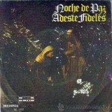 Discos de vinilo: VILLANCICOS NOCHE DE PAZ, ADESTE FIDELES, ORFEON STELLA MARIS, SINTONIA 1970. Lote 46627898