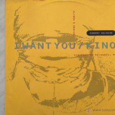 Discos de vinilo: CABARET VOLTAIRE. I WANT YOU/KINO. MAXI 33 RPM. Lote 46631600