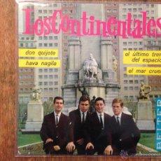 Discos de vinilo: EP LOS CONTINENTALES - GRUPO SURF 1964. Lote 46631704