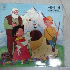 Discos de vinilo: HEIDI EN ESPAÑOL. Lote 46631801