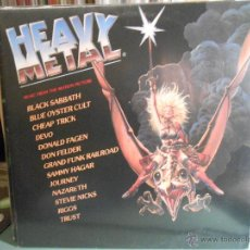 Discos de vinilo: HEAVY METAL - MUSIC FROM THE MOTION PICTURE. Lote 46633292