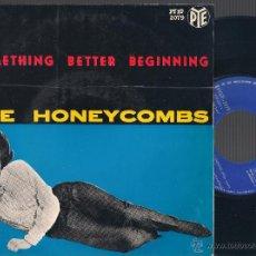 Discos de vinilo: THE HONEYCOMBS - SOMETHING BETTER BEGINNING + 3 - EP PYE - 1965 PYEP 2079 EDICIÓN ESPAÑOLA. Lote 46637569