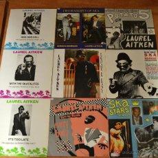 Discos de vinilo: SUPER LOTE SKA -- LAUREL AITKEN -- SKA SKA SKA. Lote 46638729