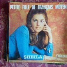 Discos de vinilo: SHEILA,-CARRERE ,FRANCES-PETITEFILLE DE FRANCAISIS MOYEN..ETC 4 TEMAS. Lote 46640249