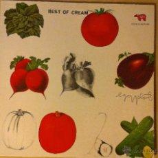 Discos de vinilo: CREAM -BEST OF CREAM- LP RSO REEDICION ALEMANA. Lote 46642008