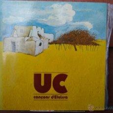 Discos de vinilo: U C -CANCONS D,EIVISSA-LP. Lote 46644008