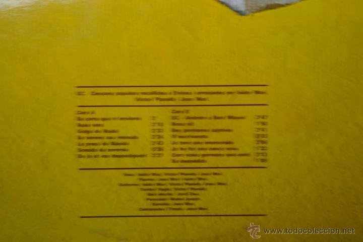 Discos de vinilo: U C -CANCONS D,EIVISSA-LP - Foto 2 - 46644008