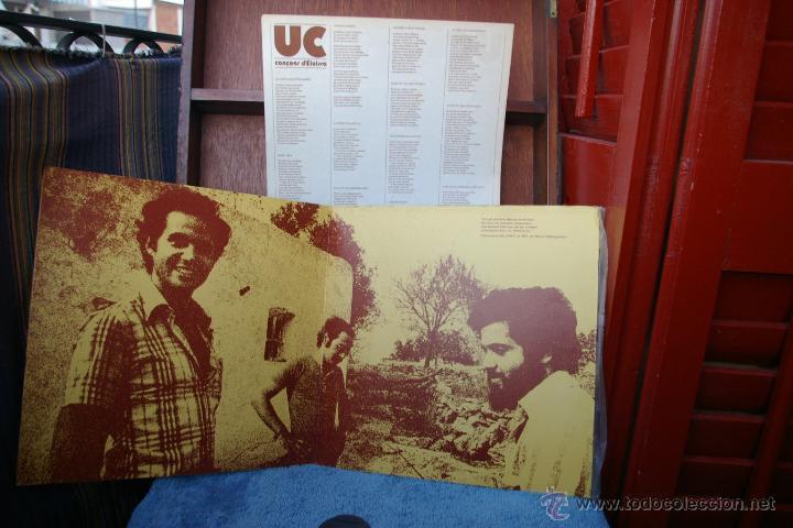 Discos de vinilo: U C -CANCONS D,EIVISSA-LP - Foto 3 - 46644008
