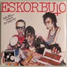 Discos de vinilo: ESKORBUTO - IMPUESTO REVOLUCIONARIO - LP 180 GRAMOS + CD NUEVO PRECINTADO. Lote 68457037
