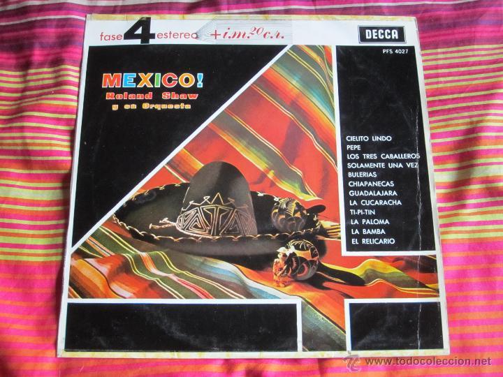 ROLAND SHAW Y SU ORQUESTA - MEXICO! 12'' LP (Música - Discos - LP Vinilo - Grupos y Solistas de latinoamérica)