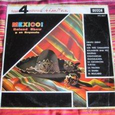 Discos de vinilo: ROLAND SHAW Y SU ORQUESTA - MEXICO! 12'' LP. Lote 46648343