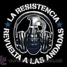 Discos de vinilo: LA RESISTENCIA - REVUELTA A LAS ANDADAS ( LP 2014 LIMITADO ) INTERTERROR , PUNK.. Lote 225069980