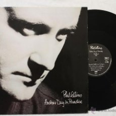 Discos de vinilo: PHIL COLLINS ANOTHER DAY IN PARADISE MAXI SINGLE VINYL MADE IN GERMANY 1989. Lote 46653671