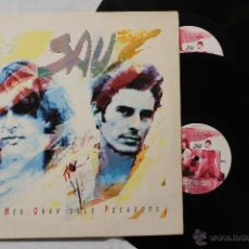Discos de vinilo: SAU EL MES GRAN DELS PECADORS DOBLE LP VINYL GATEFOLD COVER MADE IN SPAIN 1991 EMI. Lote 46653910