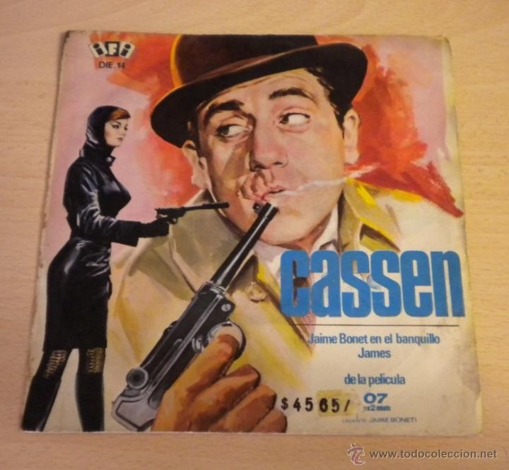 CASSEN (JAMES / JAIME BONET EN EL BANQUILLO) ***DE LA PELICULA 07 CON EL 2 DELANTE*** (Música - Discos - Singles Vinilo - Solistas Españoles de los 50 y 60)