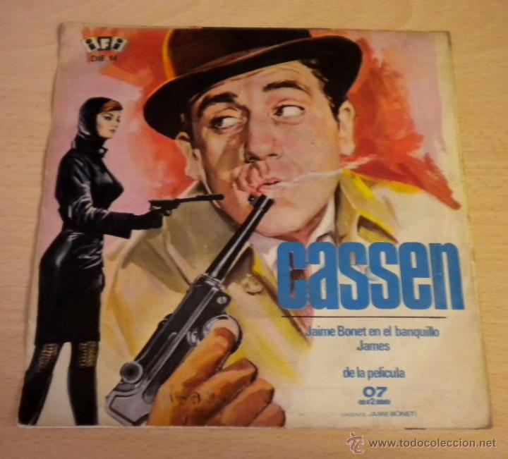Discos de vinilo: CASSEN (JAMES / JAIME BONET EN EL BANQUILLO) ***DE LA PELICULA 07 CON EL 2 DELANTE*** - Foto 2 - 46657837