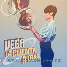 VEGA - LA CUENTA ATRÁS ( LP EDICIÓN LIMITADA) NUEVO (Música - Discos - LP Vinilo - Solistas Españoles de los 70 a la actualidad)