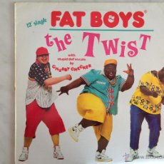 Discos de vinilo: FAT BOYS. THE TWIST. MAXI 45 RPM. Lote 46663337