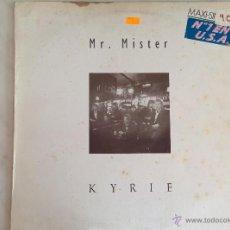 Discos de vinilo: MR. MISTER. KYRIE. MAXI.. Lote 46663885