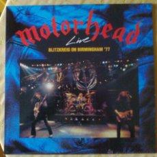 Discos de vinilo: MOTORHEAD LP VINILO BLITZKREIG ON BIRMINGHAM '77. Lote 46664762