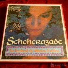 Discos de vinilo: SCHEHERAZADE -UN FESTIVAL DE MÚSICA EXÓTICA- COLECCIÓN EN ESTUCHE DE 10 DISCOS, 1.968 -IMPECABLE-. Lote 46669150