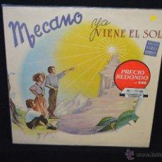 Discos de vinilo: MECANO - YA VIENE EL SOL -LP. Lote 46674841