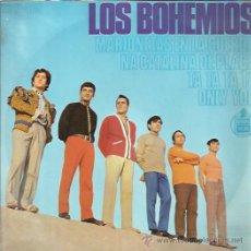 Discos de vinilo: LOS BOHEMIOS EP HISPAVOX MARIONETAS EN LA CUERDA/ NA CATALINA DE PLACA/ +2 BEAT GARAGE . Lote 46674961