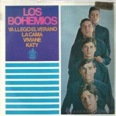 Discos de vinilo: LOS BOHEMIOS EP HISPAVOX YA LLEGO EL VERANO/ LA CAMA/ VIVIANE/ KATY BEAT GARAGE MOD. Lote 46675063