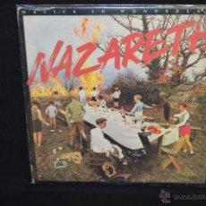 Discos de vinilo: NAZARETH - MALICE IN WONDERLAND - LP . Lote 46675211