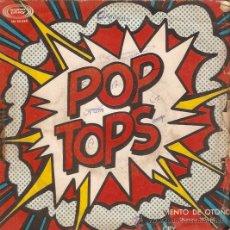 Discos de vinilo: SINGLE POP TOPS VIENTO DE OTOÑO. Lote 46675303