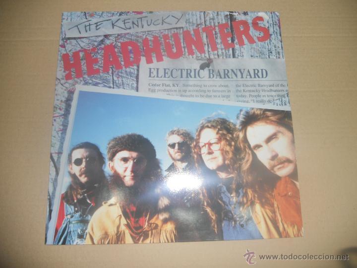 THE KENTUCKY HEADHUNTERS (LP) ELECTRIC BARNYARD AÑO 1991 (Música - Discos - LP Vinilo - Pop - Rock Internacional de los 90 a la actualidad)
