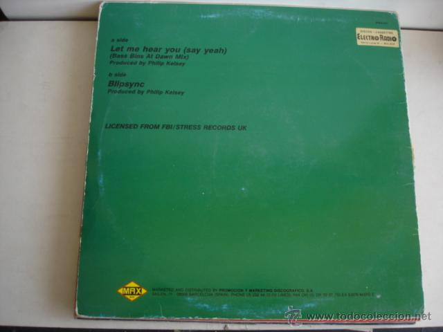 Discos de vinilo: PKA Let Me Hear You (Say Yeah) - Foto 2 - 261172735