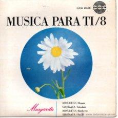 Discos de vinilo: ORQUESTA FILARMONICA DE ALEMANIA DEL SUR, EP, MINUETTO (MOZART) + 3, AÑO 1965. Lote 46676548
