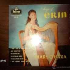 Discos de vinilo: MARY O´HARA - SONGS OF ERIN - I WISH I HAD THE SHEPHERDS LAMB + 5. Lote 46677139
