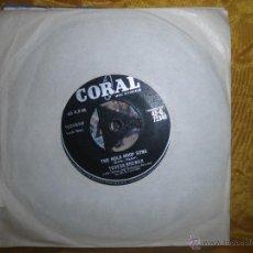 Discos de vinilo: TERESA BREWER. THE HULA HOOP SONG / SO SHY. CORAL 1957. EDICION INGLESA. Lote 46682338
