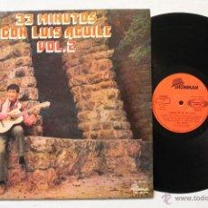 Discos de vinilo: LUIS AGUILE 33 MINUTOS CON LUIS AGUILE VOL.2 LP VINILO GATEFOLD COVER MADE IN SPAIN 1971. Lote 46683919