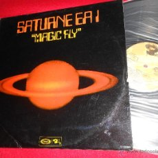 Disques de vinyle: SATURNE EA1 MAGIC FLY LP 1977 MOVIEPLAY/BARCLAY ESPAÑA SPAIN DISCO FUNK . Lote 46684297