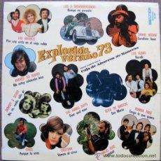 Discos de vinilo: VA - EXPLOSION VERANO 73 - LP 1973. Lote 46685330