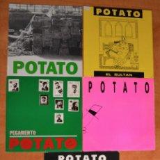 Discos de vinilo: PACK ESPECIAL 5 SINGLES -- P O T A T O --. Lote 46685991