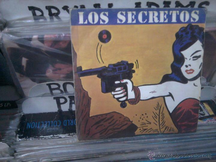 LOS SECRETOS, NO ME IMAGINO 813 537-7, POLYDOR, SINGLE VINILO (Música - Discos - Singles Vinilo - Grupos Españoles de los 70 y 80)