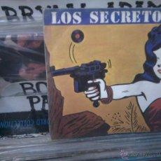 Discos de vinilo: LOS SECRETOS, NO ME IMAGINO 813 537-7, POLYDOR, SINGLE VINILO. Lote 53668885
