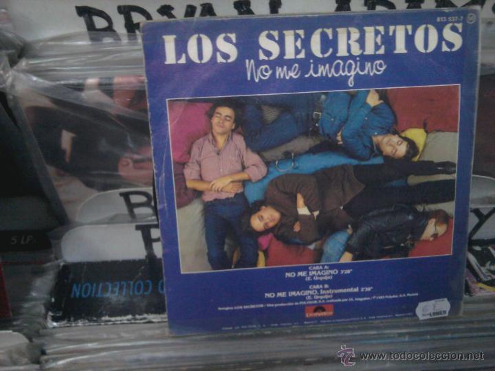 Discos de vinilo: LOS SECRETOS, NO ME IMAGINO 813 537-7, POLYDOR, SINGLE VINILO - Foto 2 - 53668885