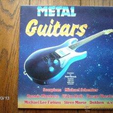 Discos de vinilo: METAL GUITARS - SCORPIONS , MICHAEL SCHENKER, RONNIE MONSTROSE, ULI JON ROTH ..... Lote 46692486