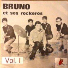 Discos de vinilo: BRUNO LOMAS -BRUNO ET SES ROCKEROS- VOL. 1 LP EL COCODRILO RECORDS RE. Lote 46693073